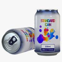 330ml Soda Can