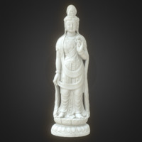 3d 8k guanyin asian