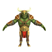 Low Poly Orc Character