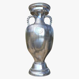 soccer trophy cup 3d 3ds
