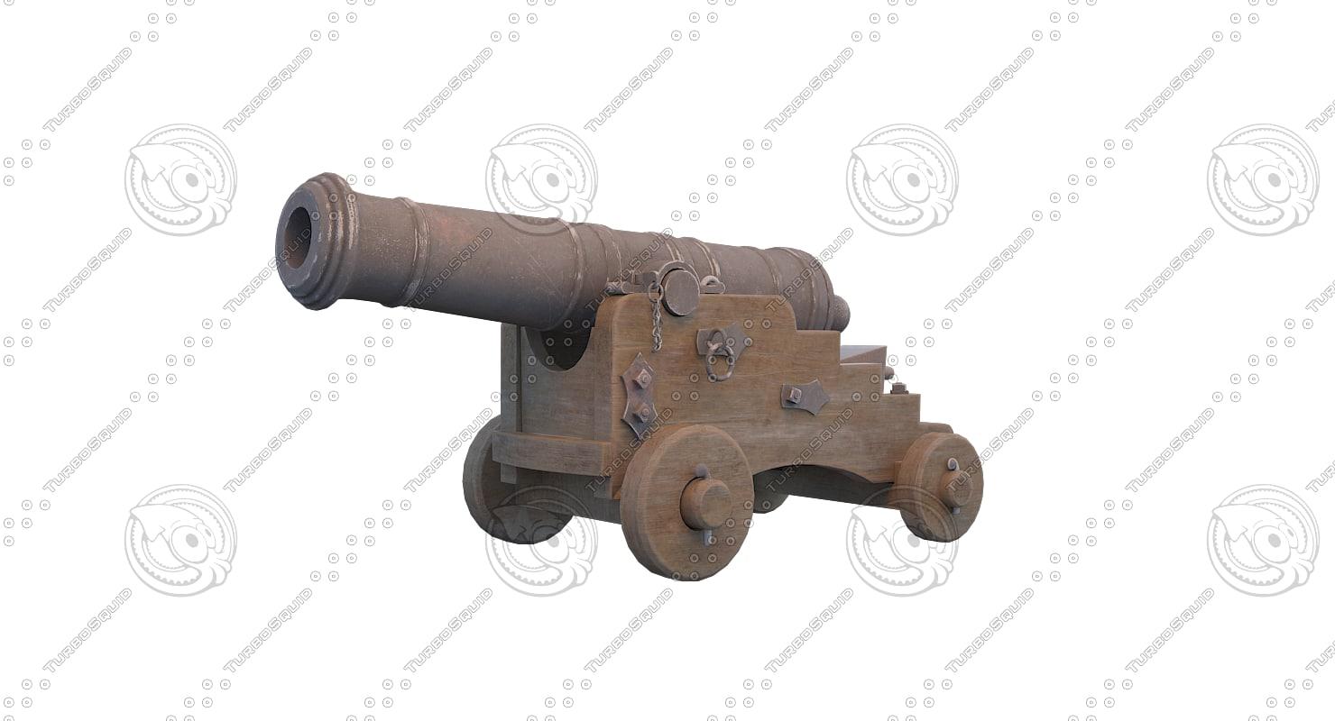 3D cannon 1780