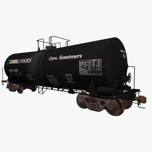 3d model t104 liquid chemicals tank