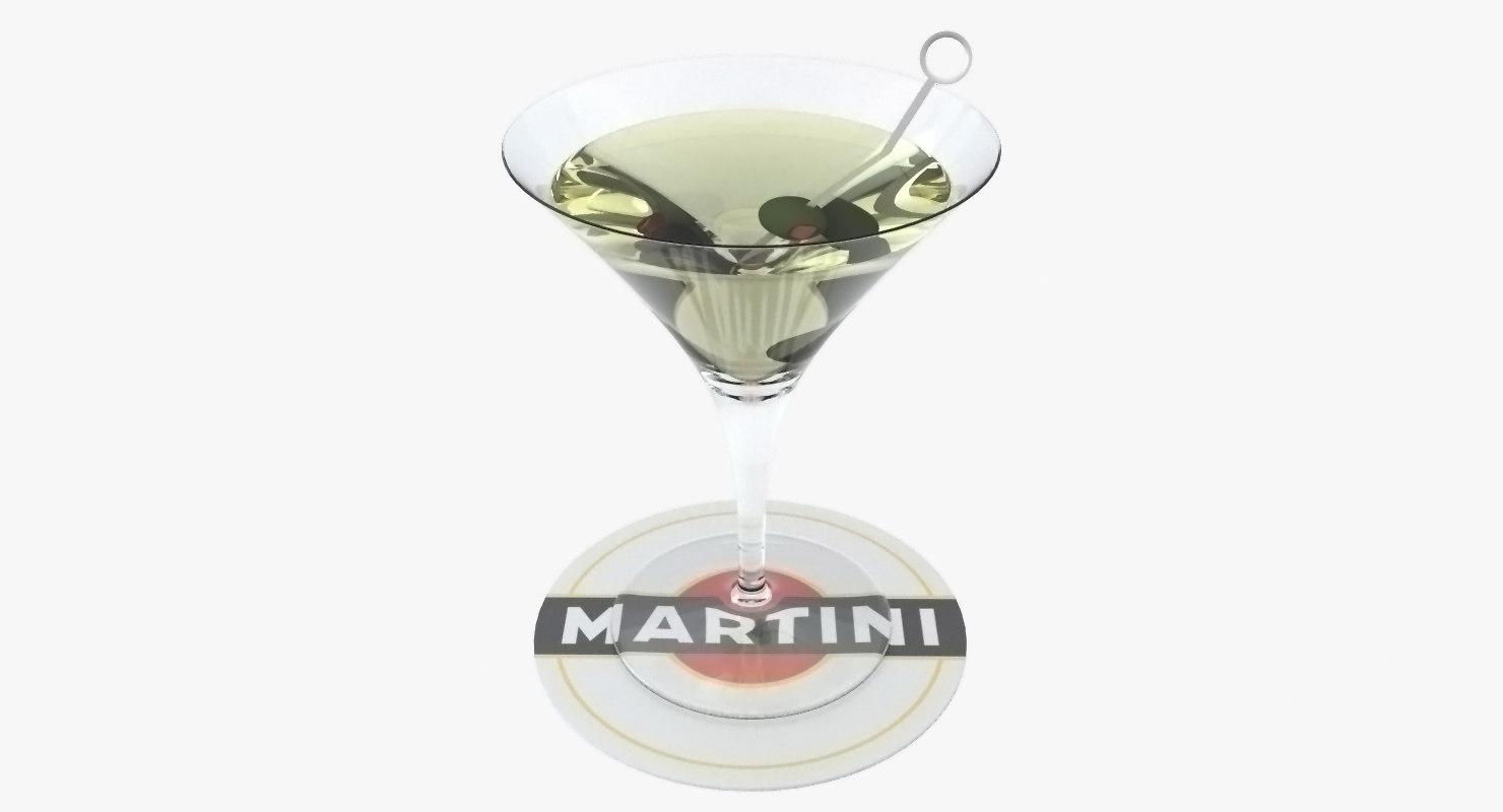 cocktail glass 3d model