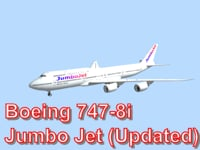 Boeing 747-8i Jumbo jet (Updated)