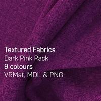 9 Dark Pink Textured Fabrics