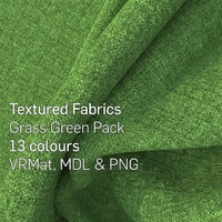 13 Grass Green Textured Fabrics