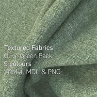 9 Olive Green Textured Fabrics