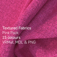 15 Pink Textured Fabrics