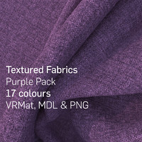 17 Purple Textured Fabrics