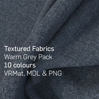 10 Warm Grey Textured Fabrics