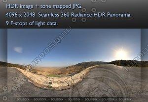 DESERT MOUNTAIN ROAD, 360 PANORAMA #22