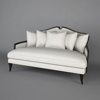 3d model of harrison sofa