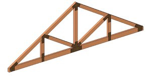 Parametric Howe Truss with Hardware