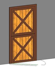 Parametric Dutch Door
