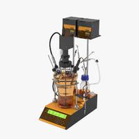 3d model lambda minifor fermenter-bioreactor
