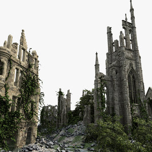 medieval ruined town max