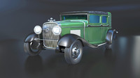 3d gangsters 1928 cadillac v-8 model