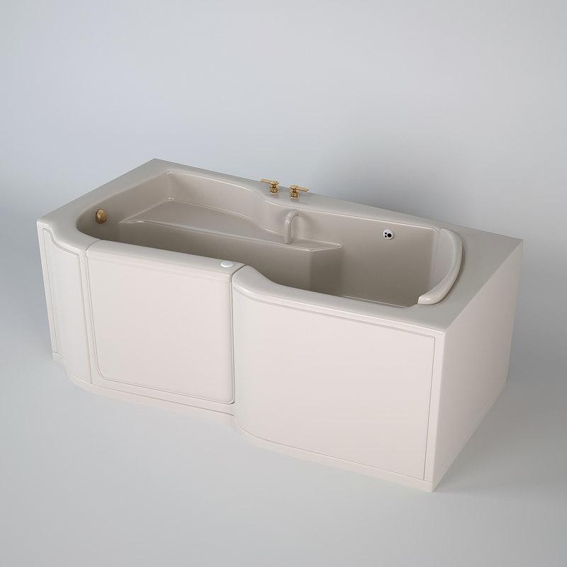 bathtub bathing max