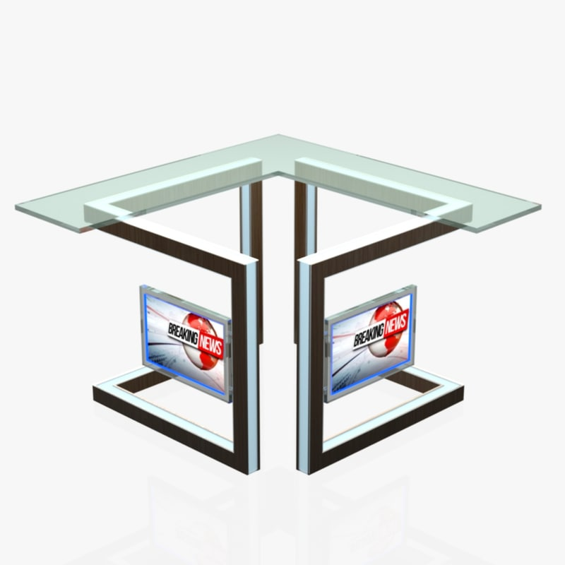 virtual tv studio news dxf free