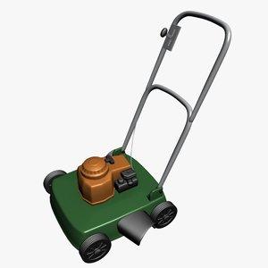 3d lawnmower lawns