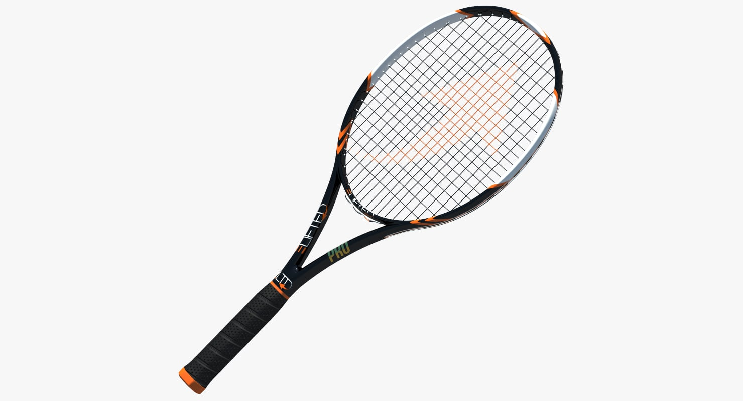 3d 3ds tennis racket