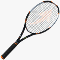 3d 3ds tennis racket