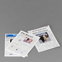3d model newspaper