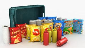 various supplies model