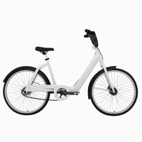 3d electric bicycle e model
