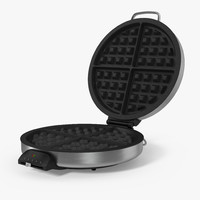 waffle maker generic 3D model