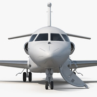 Business Jet Dassault Falcon 7X Generic 3D Model