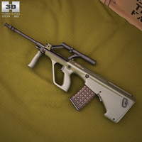 a1 steyr aug 3D model
