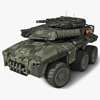 3d model sf heavy apc