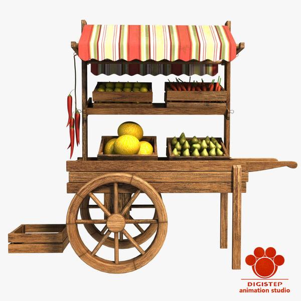3d model fruit