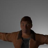 ben realistic 3d fbx