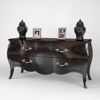 3d pregno chest drawers