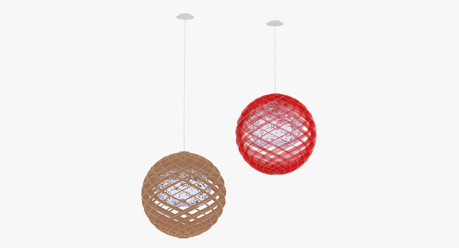 ceiling light obj