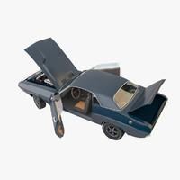 dodge challenger 1971 3d model