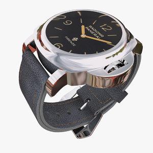watch panerai 3d 3ds