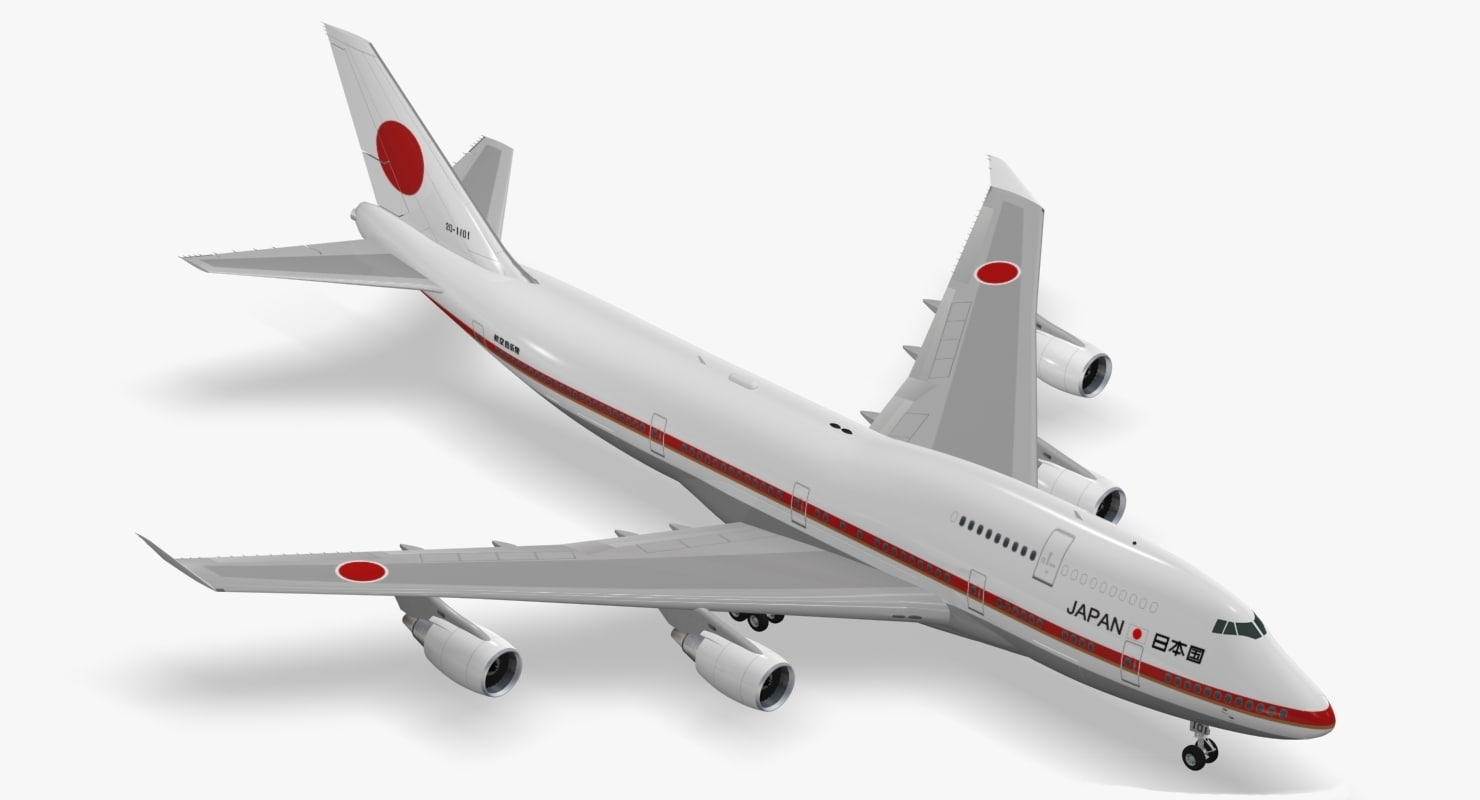 max boeing 747-47c japanese air force