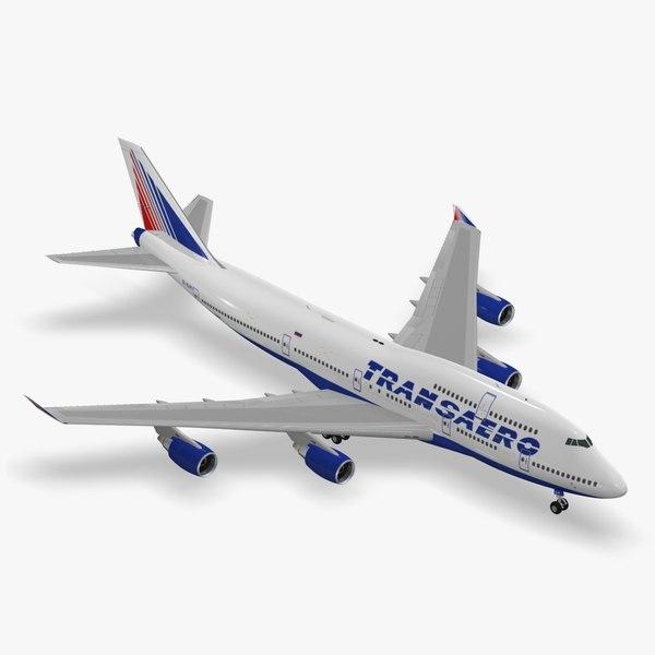 boeing 747-400 transaero airlines max