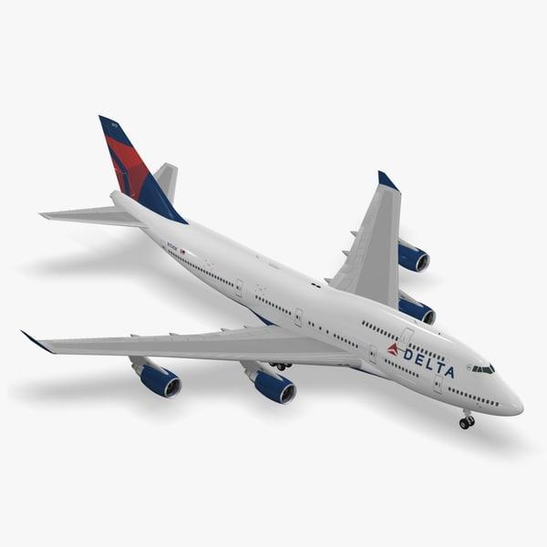 boeing 747-400 delta air lines max