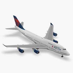 boeing 747-400 delta air lines max