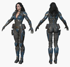 sci-fi girl max