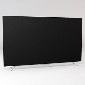 oled tv 3d model