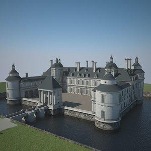 chateau 3d model