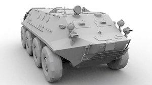3d model of btr-60