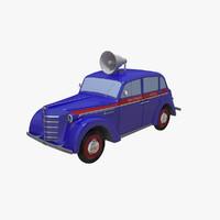 3d moskvich 400-420 400 model