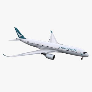 a350-900 cathay pacific 3D model