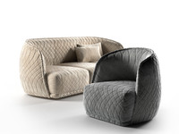 redondo armchair sofa obj